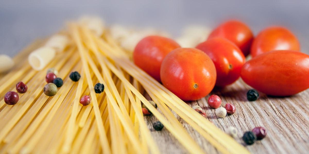 Spaghetti er i mange lande forstærket med folat