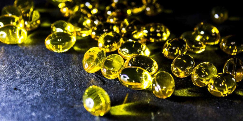 Omega 3 Fiskeolie Gel Kapsler