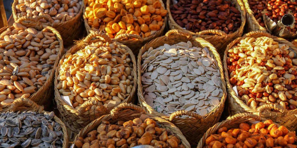 Nødder og korn