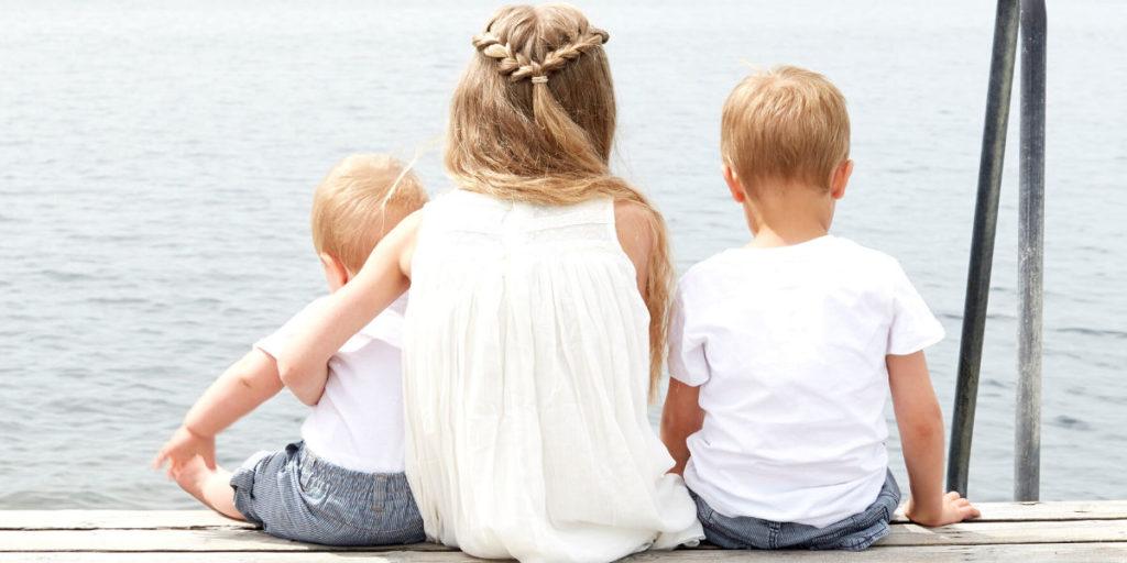 Børn bruger tid udenfor