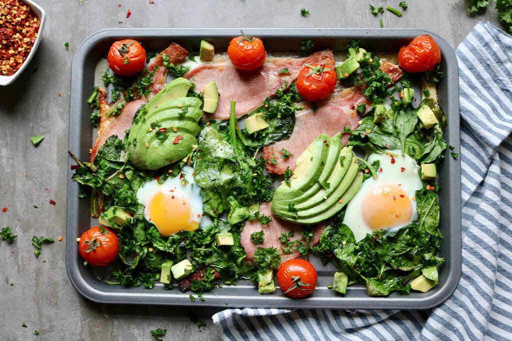Keto morgenmad